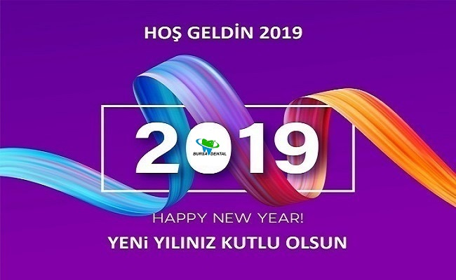 2019 YENİ YILINIZ KUTLU OLSUN.